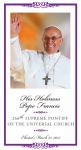 Pope Francis Prayer Cards