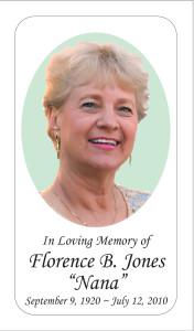 Photo Memorial Card 1
