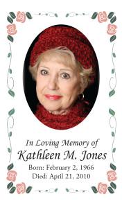 Photo Memorial Card 9