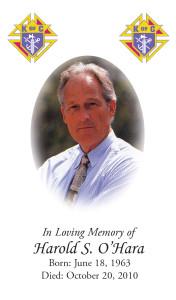 Photo Memorial Card 12
