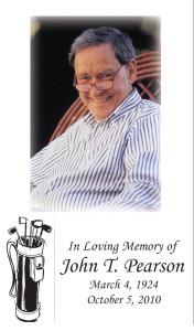 Photo Memorial Card 5
