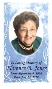 Photo Memorial Card 6