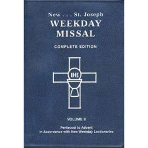 St. Joseph Weekday Missal – Vol. II