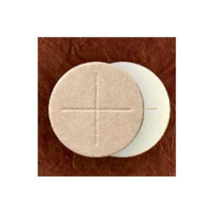 Celebrant Communion Breads; 2-3/4″ Diameter, White Flour