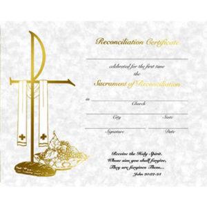 Parchment Line Reconciliation Certificates