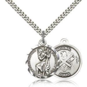 St Christopher Medal – National Guard