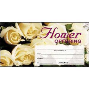 Flower Offering Envelopes