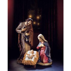 24″ Val Gardena Holy Family