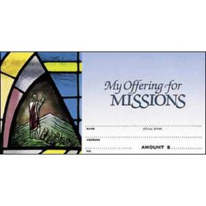 Missions Offering Envelopes