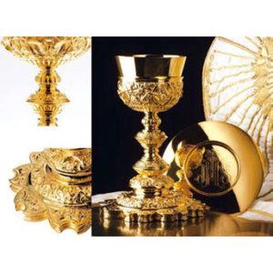 Baroque Chalice & Paten