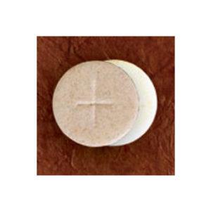 Congregation Communion Breads; 1-3/8″ Diameter, Whole Wheat Flour