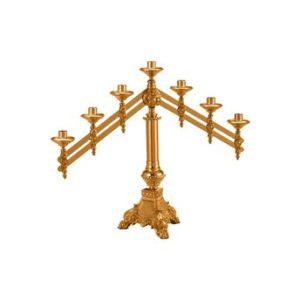 Adjustable Altar Candelabra