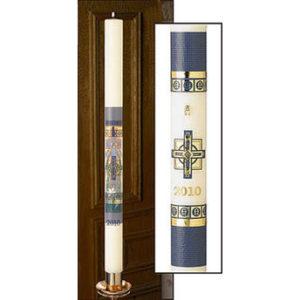 Alpha Omega Paschal Candle