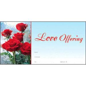 Love Offering Envelopes