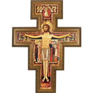 San Damiano Framed Wall Cross