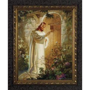 Christ at Heart's Door – Dark Frame