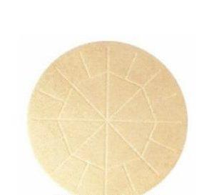 Concelebration Communion Breads; 5-3/4″ Diameter, Whole Wheat Flour