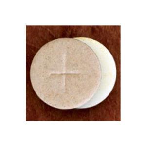 Congregation Communion Breads; 1-3/8″ Diameter, White Flour