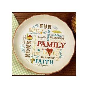 Family Pie Plate
