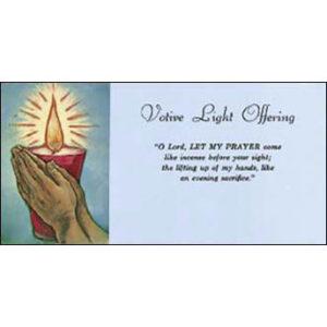 Votive Light Offering Envelopes