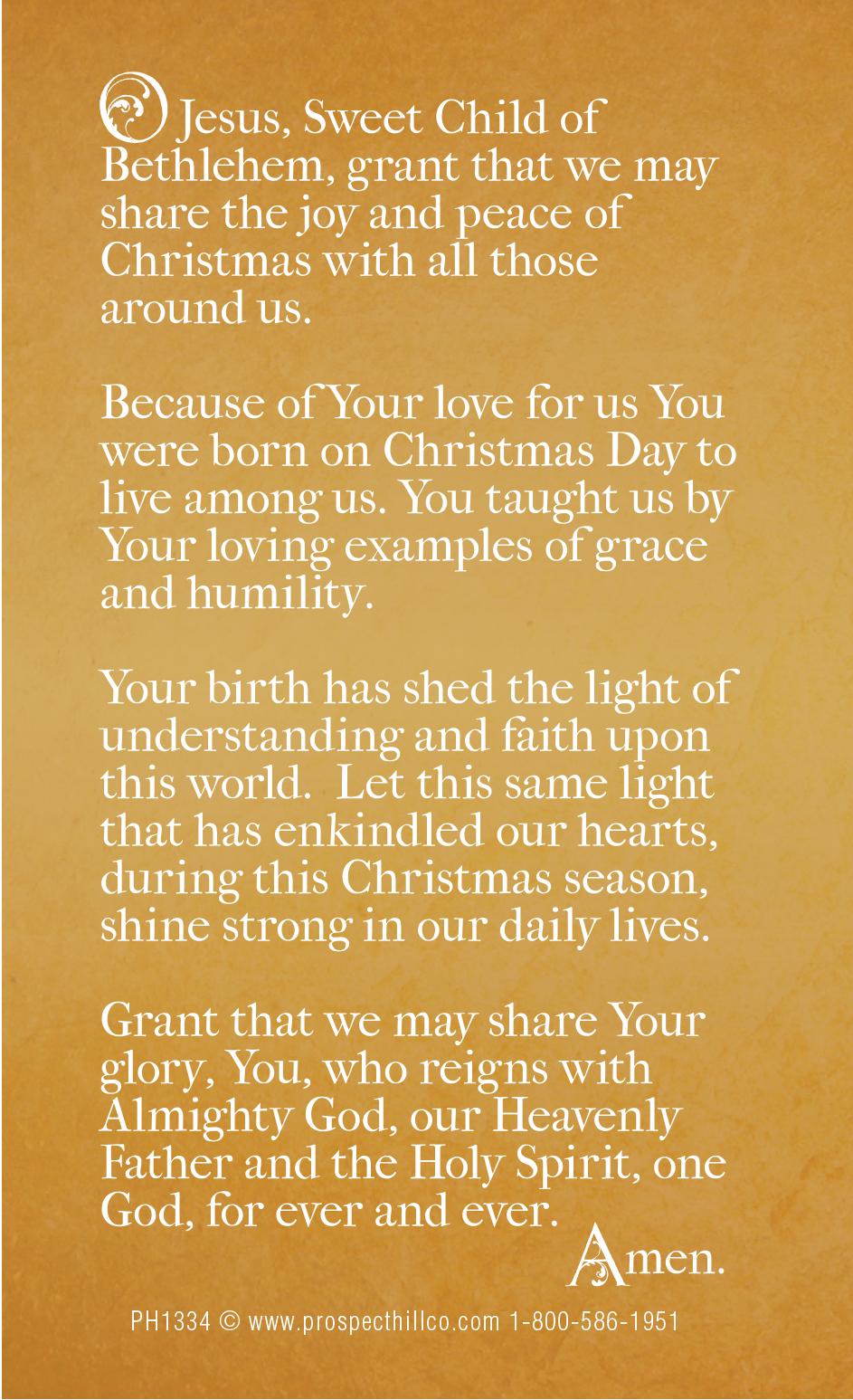 Christmas-Prayer-Card-2013-Back-FINAL – Prospect Hill Company