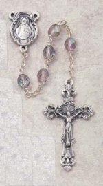 Amethyst Birthstone Rosary