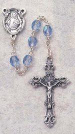 Sapphire Birthstone Rosary