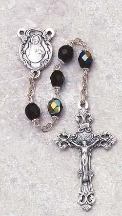 Garnet Birthstone Rosary