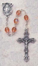 Rose Birthstone Rosary