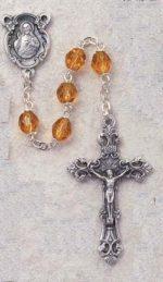 Topaz Birthstone Rosary