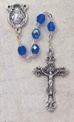 Zircon Birthstone Rosary