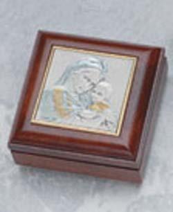 GENUINE ROSEWOOD ROSARY BOX