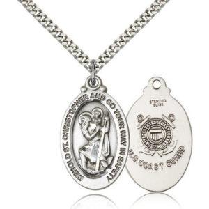 St Christopher Medal – Coast Guard