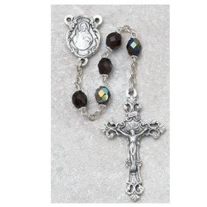 6 MM AB Garnet/January Rosary