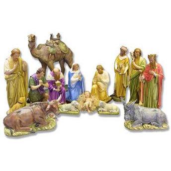 14-Piece Large Nativity Set