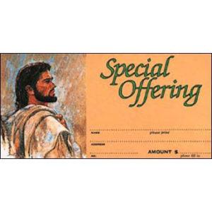 Christ Offering Envelopes