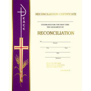 Banner Line Reconciliation Certificates