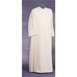 liturgia front wrap alb- ivory
