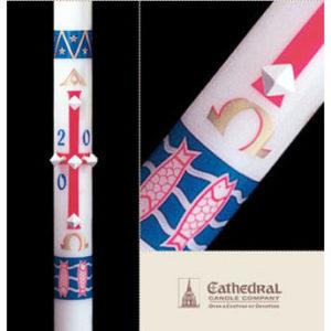 Benedictine Paschal Candle