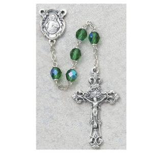 6 MM AB Peridot/August Rosary