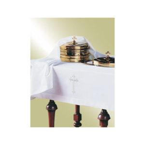2-Piece Communion Linen Set with Cross