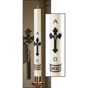 Adoration Paschal Candle