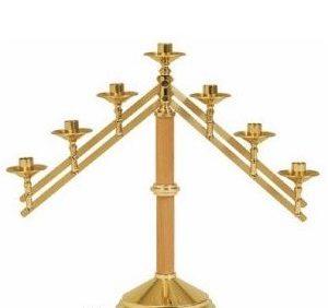 Adjustable Arms Altar Candelabra