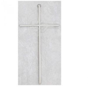 Plain Silver Cross