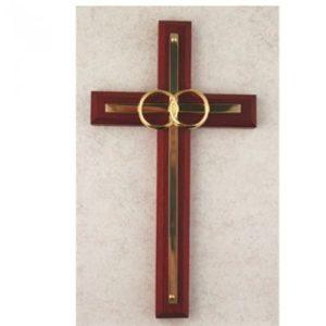 Cherry W/ Bras Wedding Cross