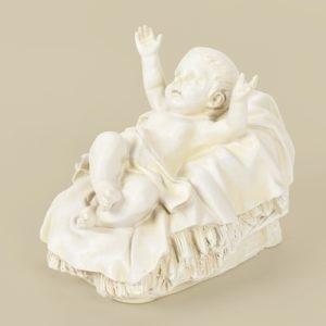 27 Baby Jesus Nativity Figure White