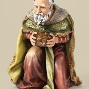 27 Kneeling Wise Man Figure Color