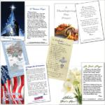 Prayer Cards & Prayer Bookmarks