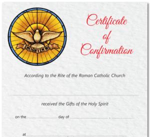 Bulletins, Program Covers, Sacramental Stationary and Certificates